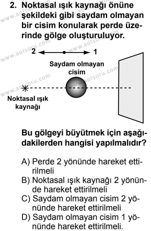 Fizik 2 Dersi 2011 - 2012 Yılı Ek Sınav Soruları 2. Soru