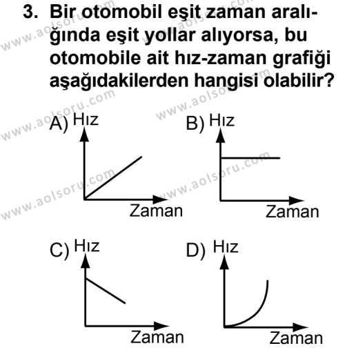 Fizik 2 Dersi 2013 - 2014 Yılı 3. Dönem Sınav Soruları 3. Soru