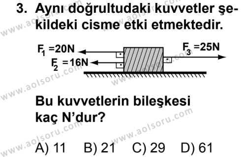 Fizik 3 Dersi 2011 - 2012 Yılı 2. Dönem Sınav Soruları 3. Soru