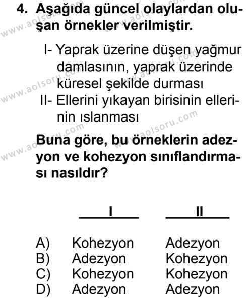 Fizik 3 Dersi 2014 - 2015 Yılı Ek Sınav Soruları 4. Soru