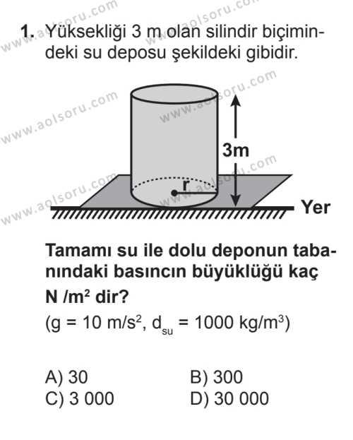 Fizik 3 Dersi 2016 - 2017 Yılı Ek Sınav Soruları 1. Soru